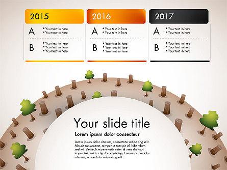 Deforestation Presentation Template, Slide 3, 02984, Presentation Templates — PoweredTemplate.com