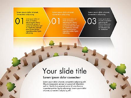 Deforestation Presentation Template, Slide 4, 02984, Presentation Templates — PoweredTemplate.com