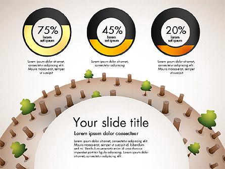Deforestation Presentation Template, Slide 7, 02984, Presentation Templates — PoweredTemplate.com