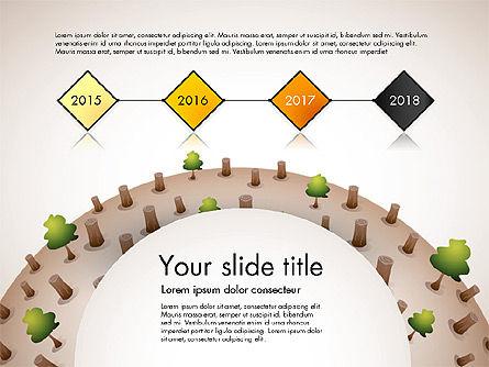 Deforestation Presentation Template, Slide 8, 02984, Presentation Templates — PoweredTemplate.com