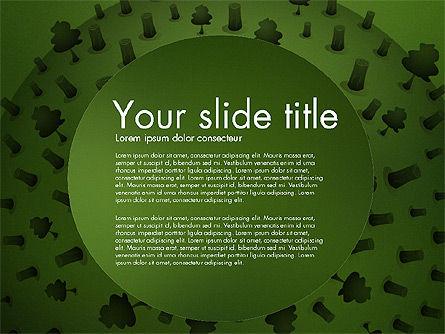 Deforestation Presentation Template, Slide 9, 02984, Presentation Templates — PoweredTemplate.com
