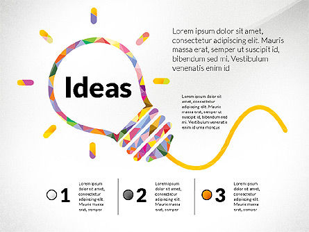 Presentation Templates: Creative Ideas Presentation Template #02987