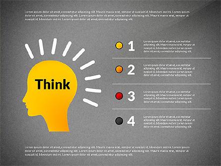 Creative Ideas Presentation Template, Slide 11, 02987, Presentation Templates — PoweredTemplate.com