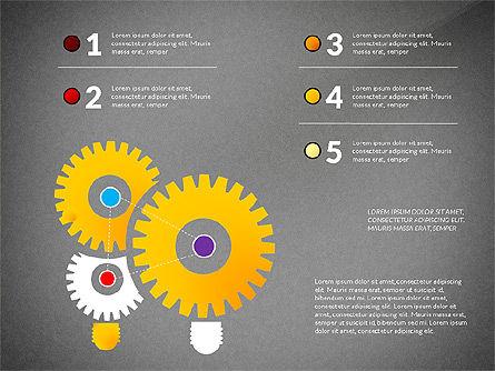 Creative Ideas Presentation Template, Slide 16, 02987, Presentation Templates — PoweredTemplate.com