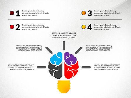 Creative Ideas Presentation Template, Slide 6, 02987, Presentation Templates — PoweredTemplate.com