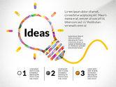 Presentation Templates: Creative Ideas Presentation Template #02987
