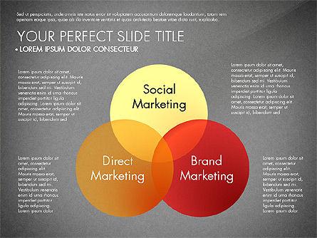 Marketing Concept Diagram, Slide 10, 02988, Business Models — PoweredTemplate.com