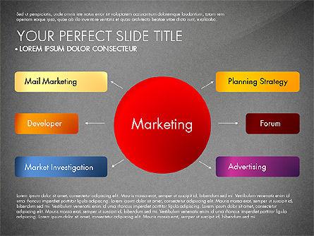 Marketing Concept Diagram, Slide 13, 02988, Business Models — PoweredTemplate.com