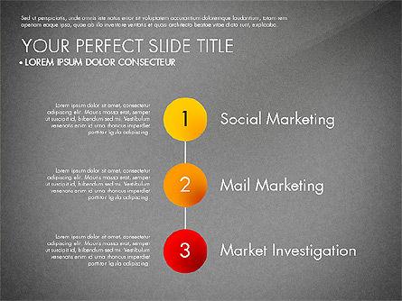 Marketing Concept Diagram, Slide 16, 02988, Business Models — PoweredTemplate.com