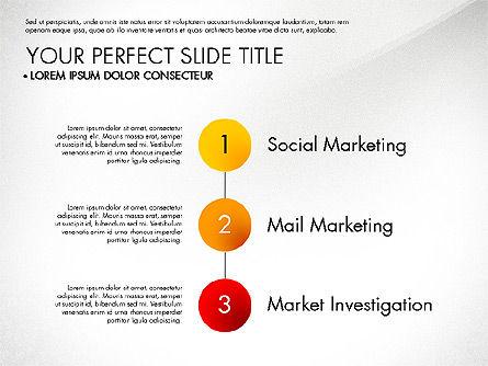 Marketing Concept Diagram, Slide 8, 02988, Business Models — PoweredTemplate.com