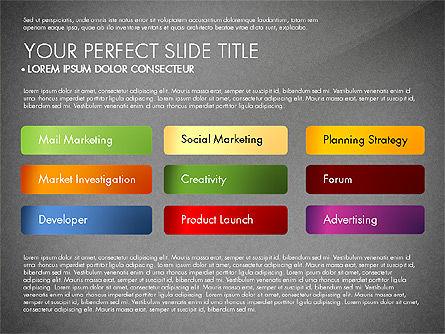 Marketing Concept Diagram, Slide 9, 02988, Business Models — PoweredTemplate.com