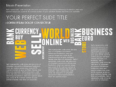 Bitcoin Presentation Template, Slide 11, 02990, Presentation Templates — PoweredTemplate.com
