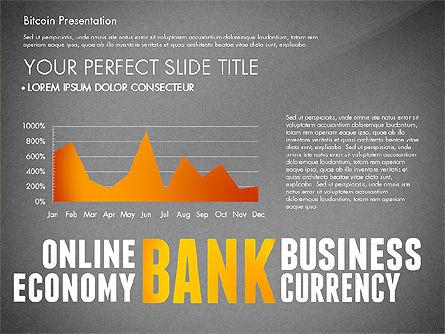 Bitcoin Presentation Template, Slide 12, 02990, Presentation Templates — PoweredTemplate.com