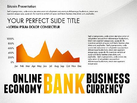 Bitcoin Presentation Template, Slide 4, 02990, Presentation Templates — PoweredTemplate.com