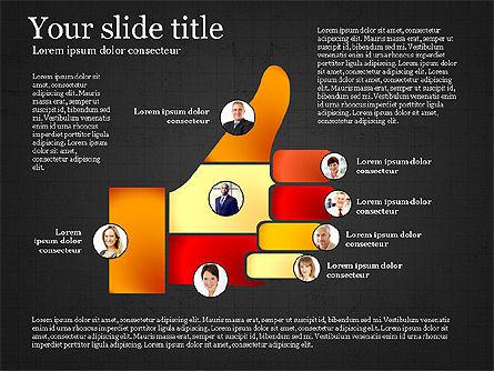 Teamwork Presentation Template, Slide 12, 02991, Presentation Templates — PoweredTemplate.com