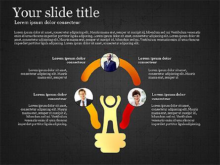 Teamwork Presentation Template, Slide 14, 02991, Presentation Templates — PoweredTemplate.com