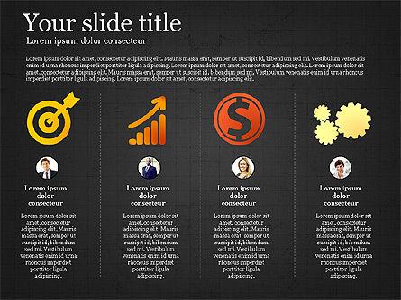 Teamwork Presentation Template, Slide 15, 02991, Presentation Templates — PoweredTemplate.com