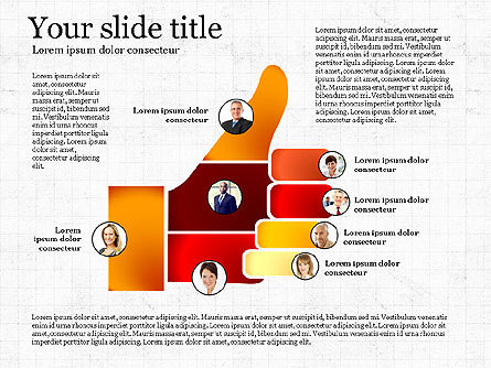 Teamwork Presentation Template, Slide 4, 02991, Presentation Templates — PoweredTemplate.com