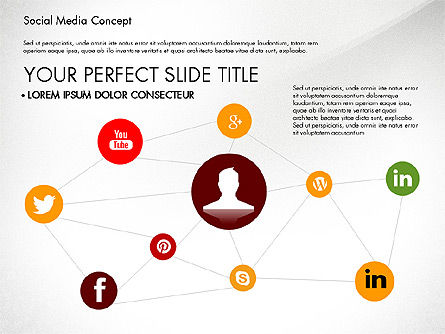 Social Media Concept Presentation Template Slide 4