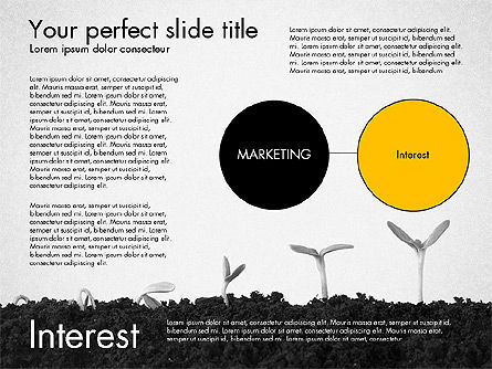 Business Models: Marketing Concept Presentation Template #02995