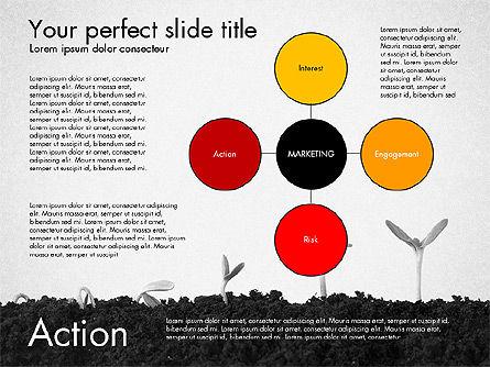 Marketing Concept Presentation Template, Slide 4, 02995, Business Models — PoweredTemplate.com