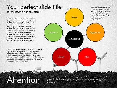 Marketing Concept Presentation Template, Slide 5, 02995, Business Models — PoweredTemplate.com