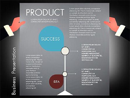 Promotion Concept Presentation Template, Slide 10, 02996, Presentation Templates — PoweredTemplate.com