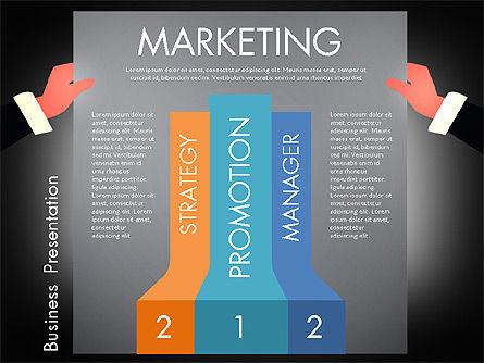 Promotion Concept Presentation Template, Slide 12, 02996, Presentation Templates — PoweredTemplate.com