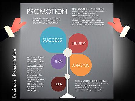 Promotion Concept Presentation Template, Slide 14, 02996, Presentation Templates — PoweredTemplate.com