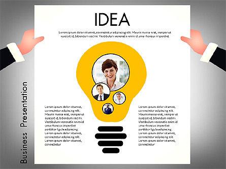 Promotion Concept Presentation Template, Slide 5, 02996, Presentation Templates — PoweredTemplate.com
