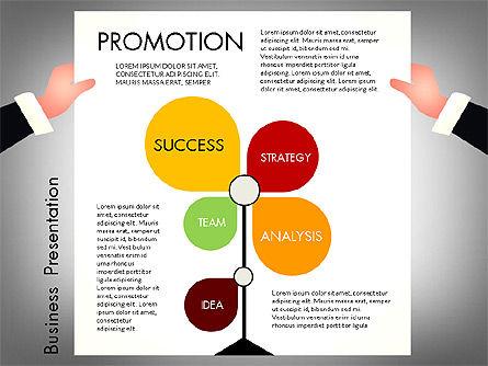Promotion Concept Presentation Template, Slide 6, 02996, Presentation Templates — PoweredTemplate.com