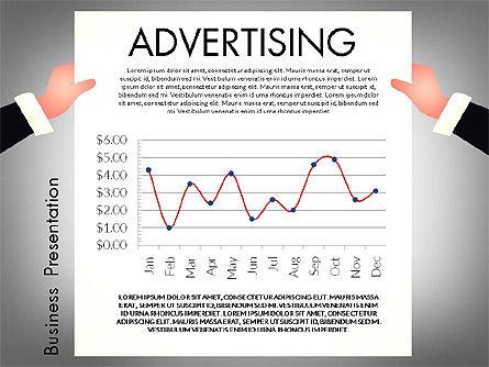 Promotion Concept Presentation Template, Slide 8, 02996, Presentation Templates — PoweredTemplate.com
