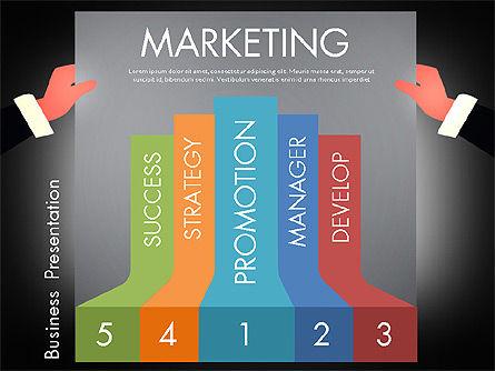 Promotion Concept Presentation Template, Slide 9, 02996, Presentation Templates — PoweredTemplate.com