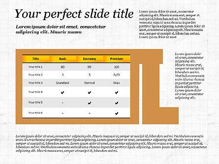 Business Alphabet Presentation Template, Slide 12, 02999, Data Driven Diagrams and Charts — PoweredTemplate.com