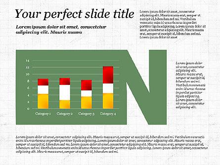 Business Alphabet Presentation Template, Slide 14, 02999, Data Driven Diagrams and Charts — PoweredTemplate.com