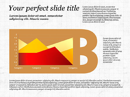 Business Alphabet Presentation Template, Slide 2, 02999, Data Driven Diagrams and Charts — PoweredTemplate.com