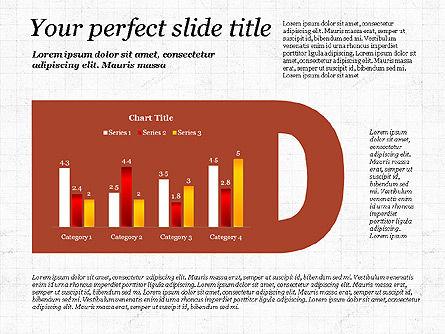 Business Alphabet Presentation Template, Slide 4, 02999, Data Driven Diagrams and Charts — PoweredTemplate.com