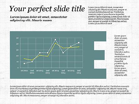 Business Alphabet Presentation Template, Slide 5, 02999, Data Driven Diagrams and Charts — PoweredTemplate.com