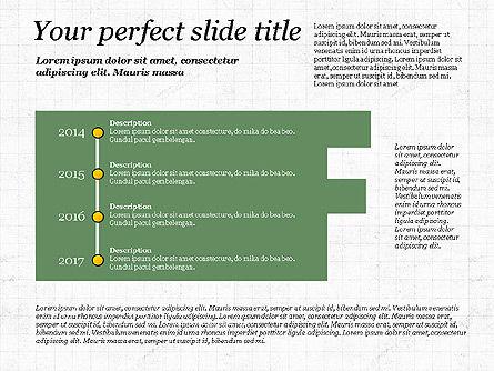 Business Alphabet Presentation Template, Slide 6, 02999, Data Driven Diagrams and Charts — PoweredTemplate.com