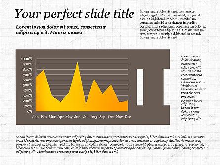 Business Alphabet Presentation Template, Slide 9, 02999, Data Driven Diagrams and Charts — PoweredTemplate.com