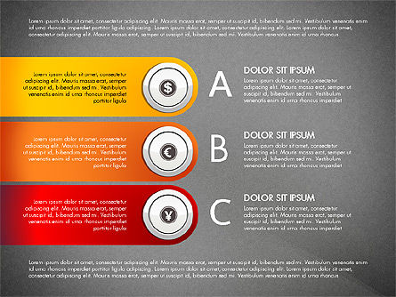 Financial Options Diagram, Slide 11, 03001, Stage Diagrams — PoweredTemplate.com
