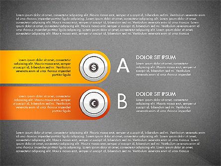 Financial Options Diagram, Slide 13, 03001, Stage Diagrams — PoweredTemplate.com