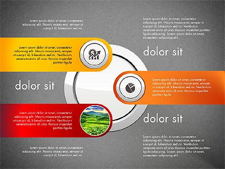 Financial Options Diagram, Slide 14, 03001, Stage Diagrams — PoweredTemplate.com