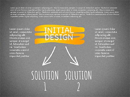 Creative Process Diagram, Slide 12, 03002, Process Diagrams — PoweredTemplate.com