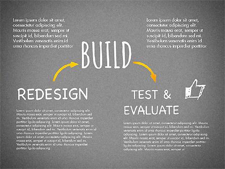 Creative Process Diagram, Slide 16, 03002, Process Diagrams — PoweredTemplate.com