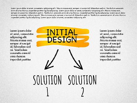 Creative Process Diagram, Slide 4, 03002, Process Diagrams — PoweredTemplate.com