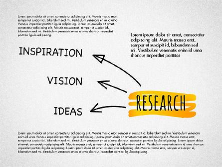 Creative Process Diagram, Slide 7, 03002, Process Diagrams — PoweredTemplate.com