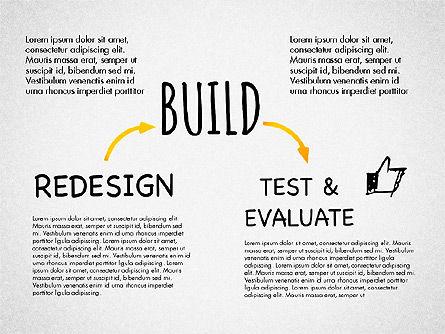 Creative Process Diagram, Slide 8, 03002, Process Diagrams — PoweredTemplate.com