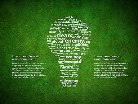 Clean Energy Presentation Template, Slide 9, 03003, Presentation Templates — PoweredTemplate.com