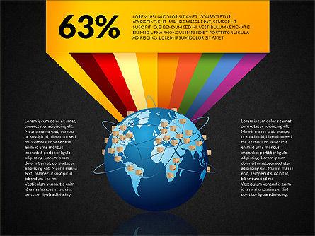 Cargo Infographics, Slide 10, 03007, Infographics — PoweredTemplate.com